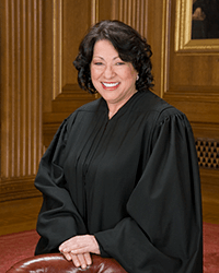 Sonia Sotomayor, Associate Justice of the Supreme Court of the United States