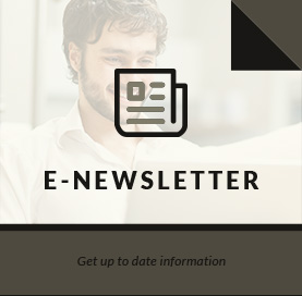 E-Newsletter - Get up-to-date information