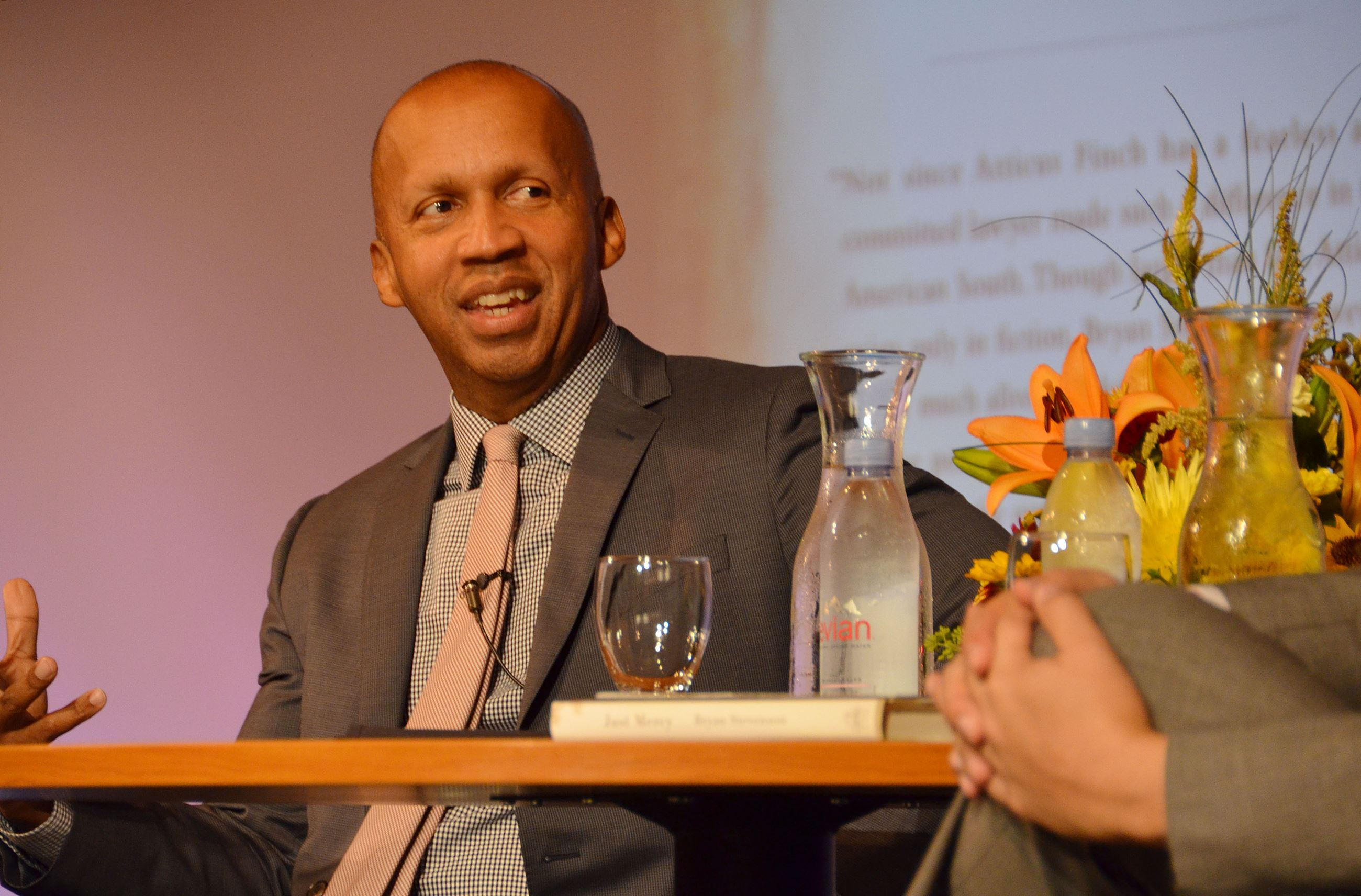 Author Bryan Stevenson